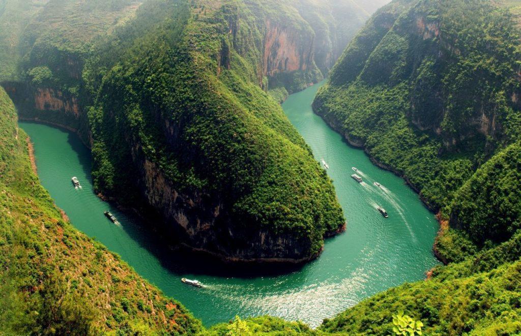Круизы по реке Янцзы, Китай
