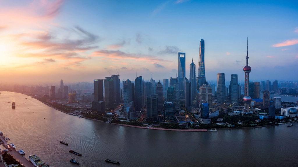 Новый район Пудун (г. Шанхай), Китай