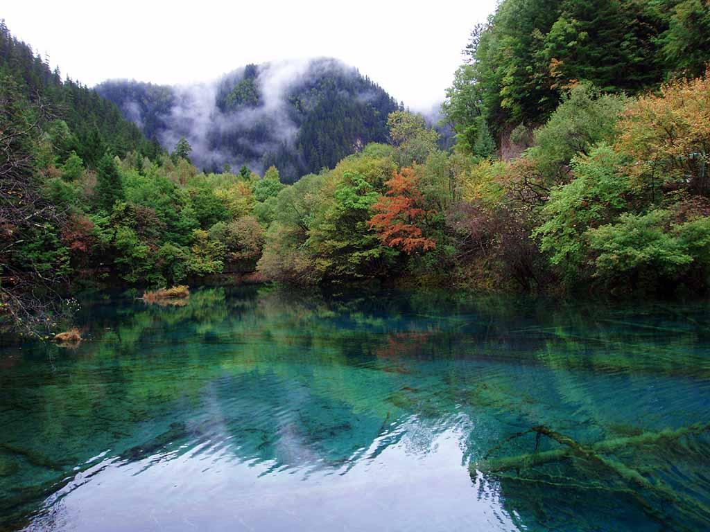 Долина Цзючжайгоу, Китай