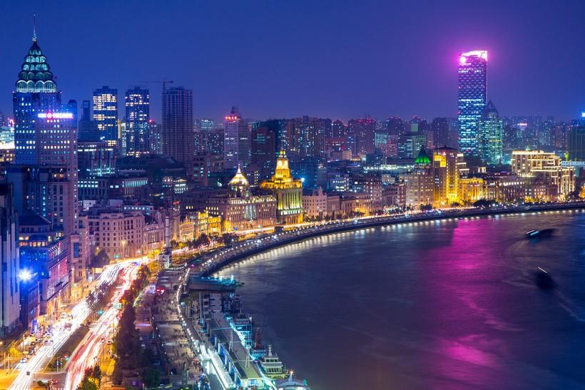 Набережная Вайтань (г. Шанхай), Китай
