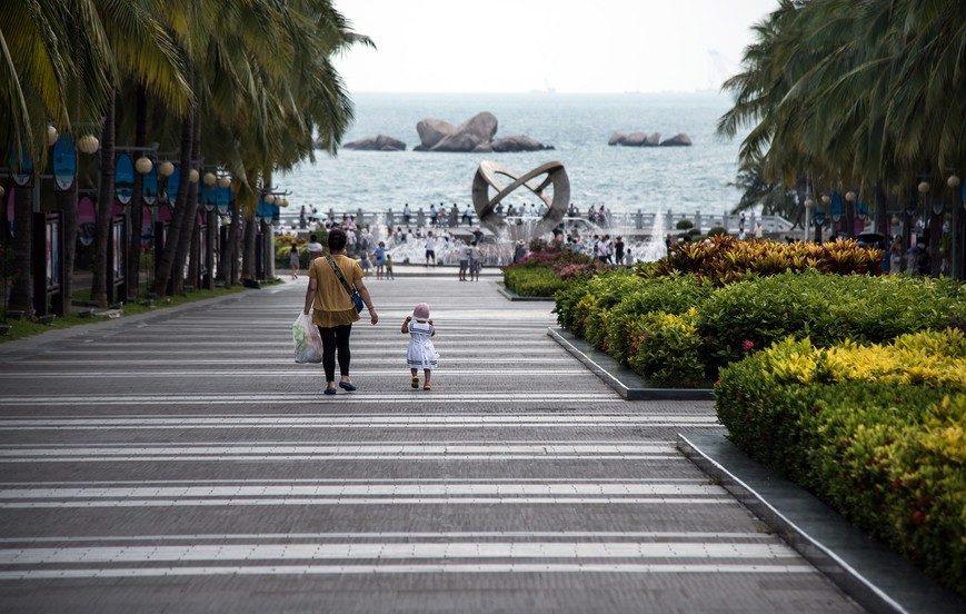 """Природный парк """"Край света"""" (о. Хайнань), Китай"""