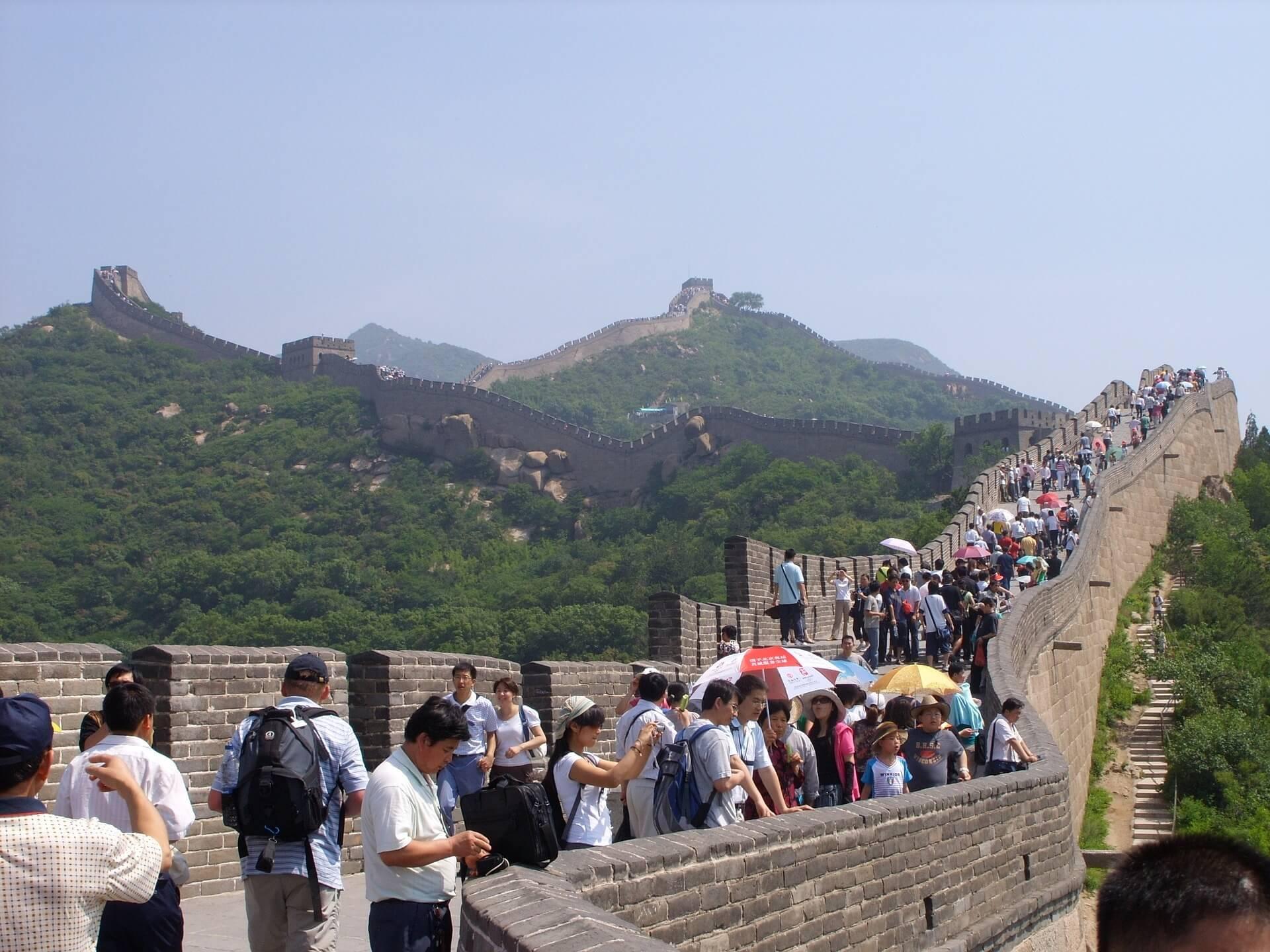 Великая Китайская стена (Северный Китай)