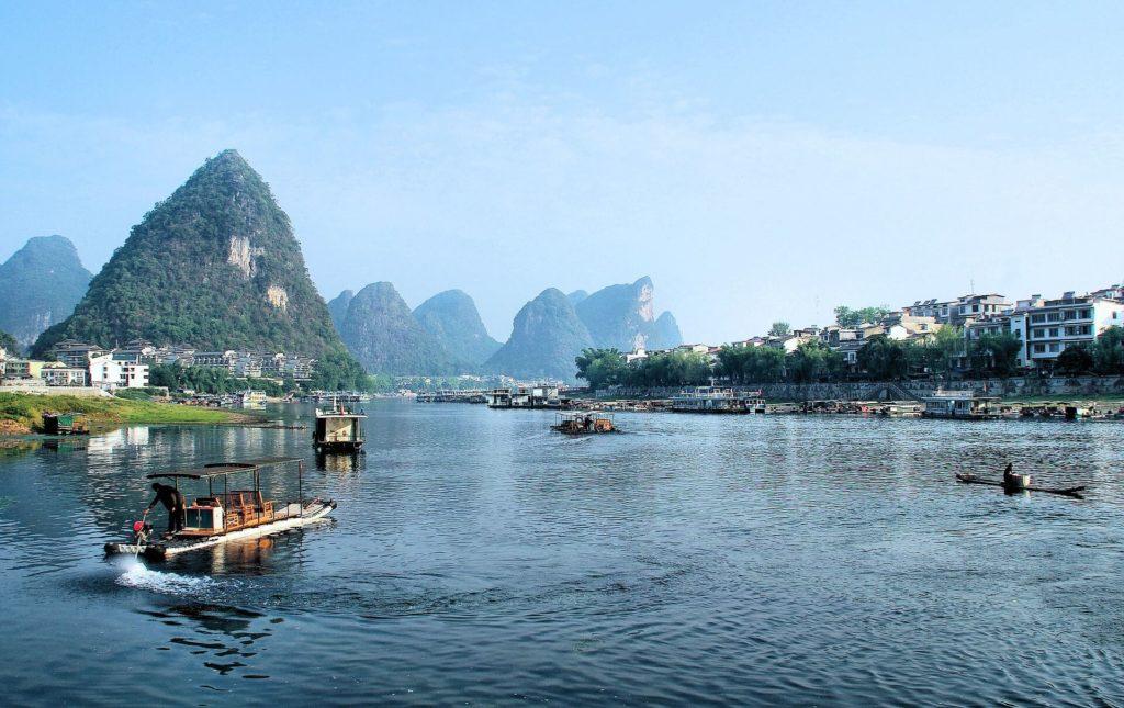 Туры по реке Ли, Китай