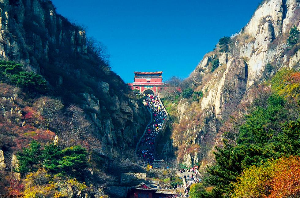 Гора Тайшань (провинция Шаньдун), Китай