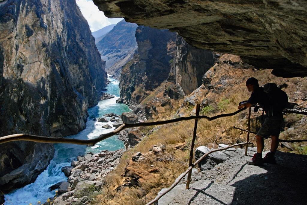 Ущелье Прыгающего Тигра (провинция Юньнань), Китай