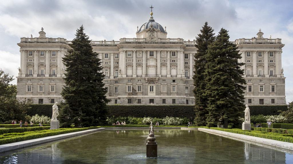 Королевский дворец (г. Мадрид), Испания