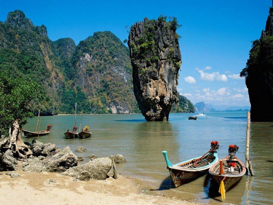 Остров Ко Тапу (Остров Джеймса Бонда), Таиланд