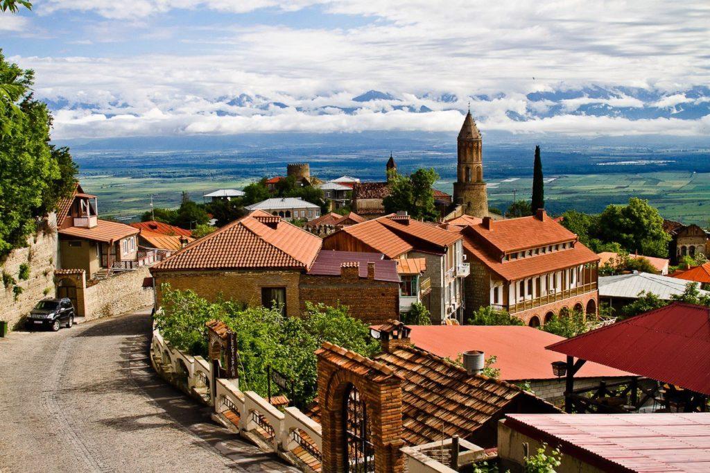 Город Сигнахи, Кахетия, Грузия