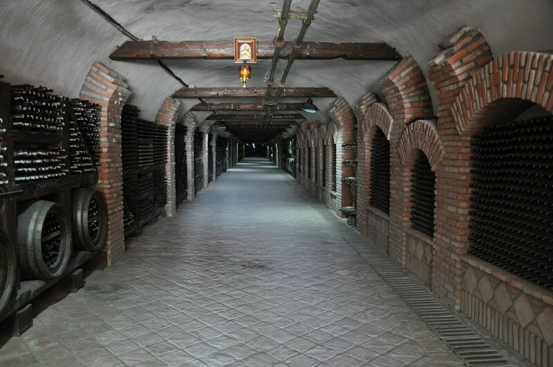 Винный тоннель, Кварели, Грузия