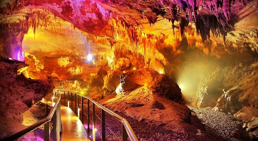 Пещера Прометея, Цхалтубо, Грузия