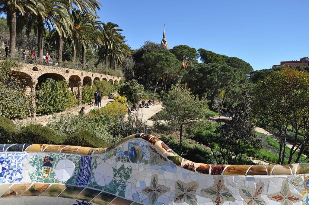 Парк Гуэль (г. Барселона), Испания