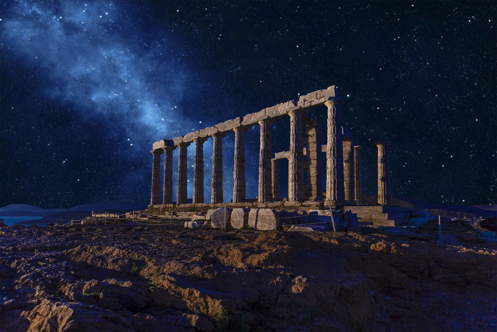 Храм Посейдона, мыс Сунион