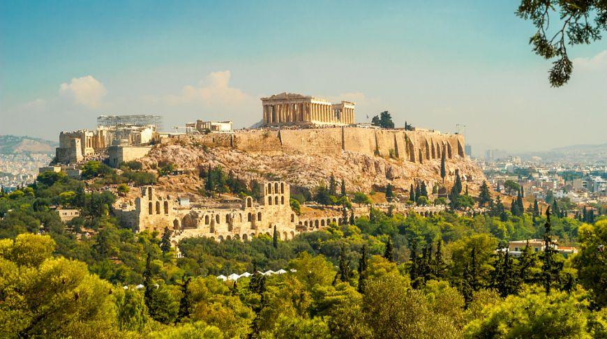 Афинский акрополь, Афины