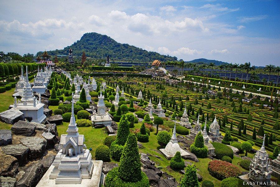Тропический сад Нонг Нуч, Таиланд