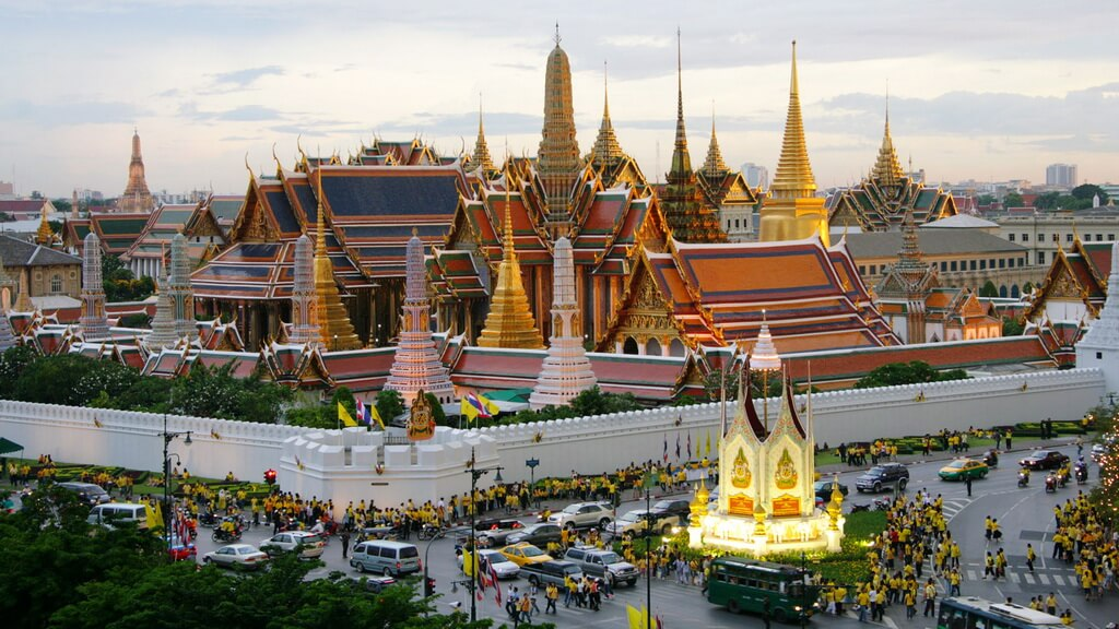 Королевский дворец (г. Бангкок), Таиланд