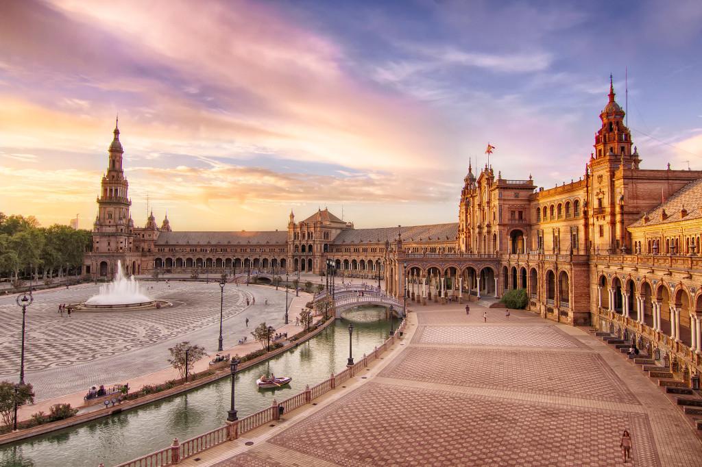 Площадь Испании (г. Севилья), Испания