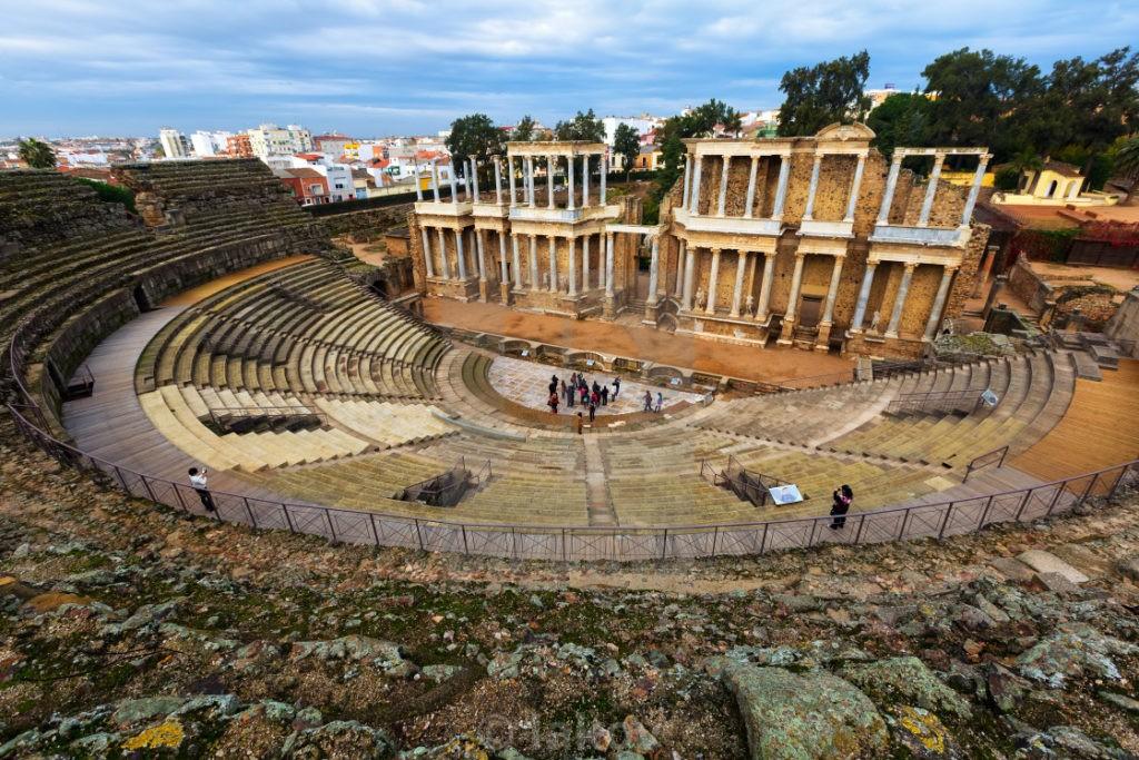 Римский театр (г. Мерида), Испания
