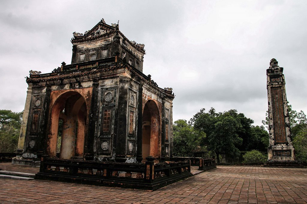 Гробница императора Ты Дыка, Хюэ