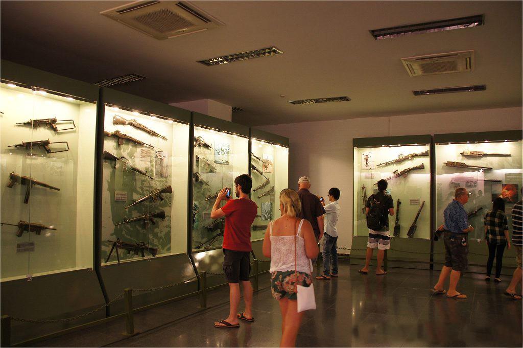 Музей жертв войны, Хошимин