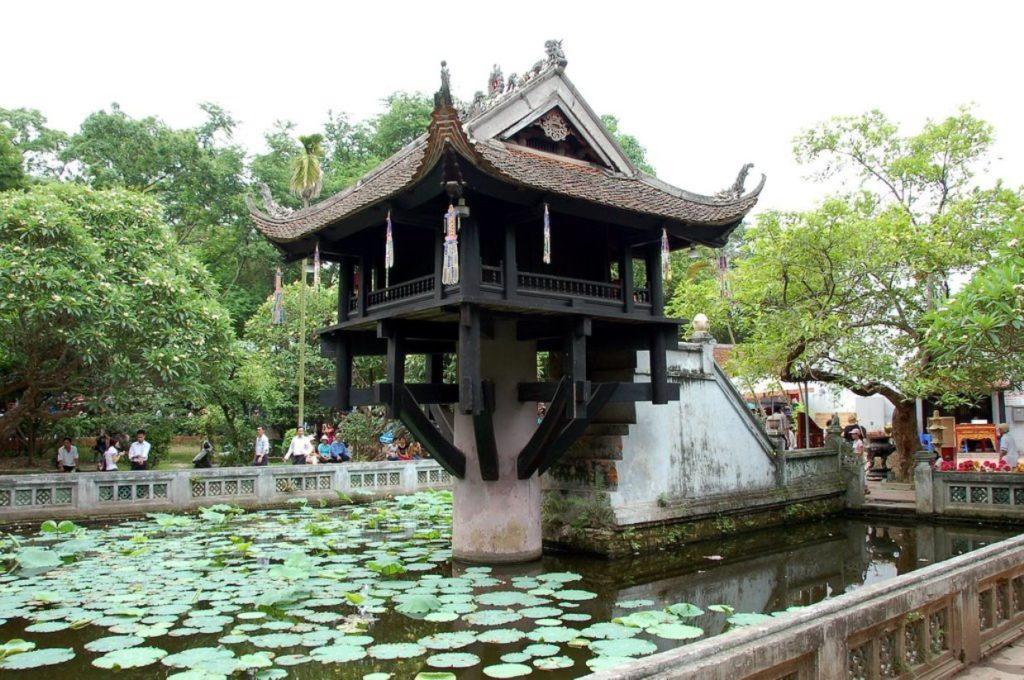 Пагода на одном столбе, Ханой