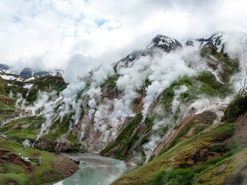 Долина гейзеров (Полуостров Камчатка)