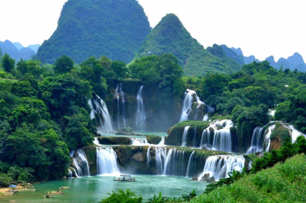 Водопад Дэтянь, Вьетнам