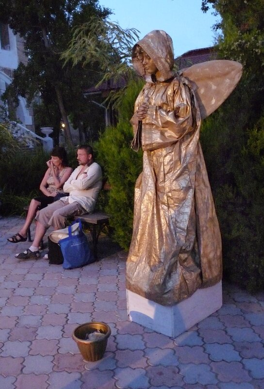 Парк живых скульптур, Евпатория