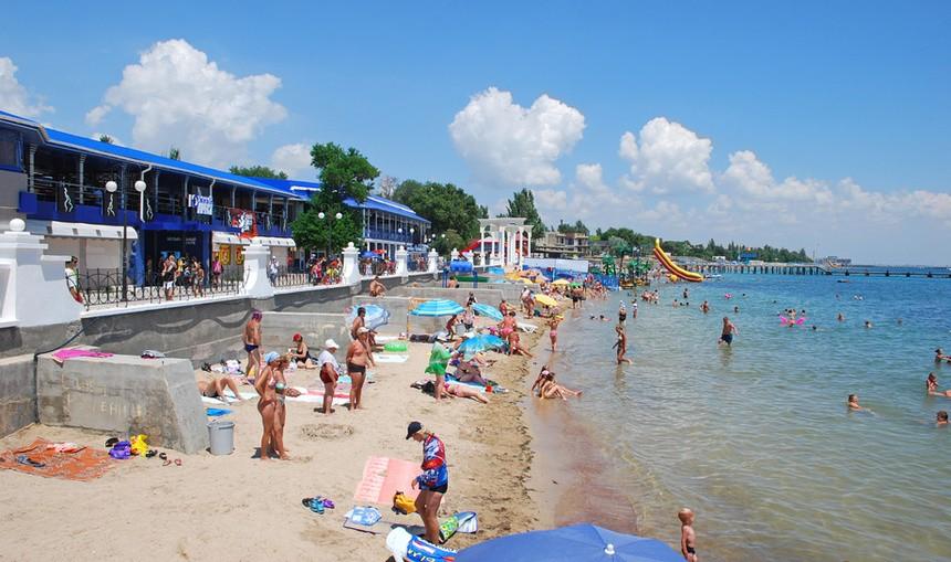 Центральный городской пляж, Евпатория