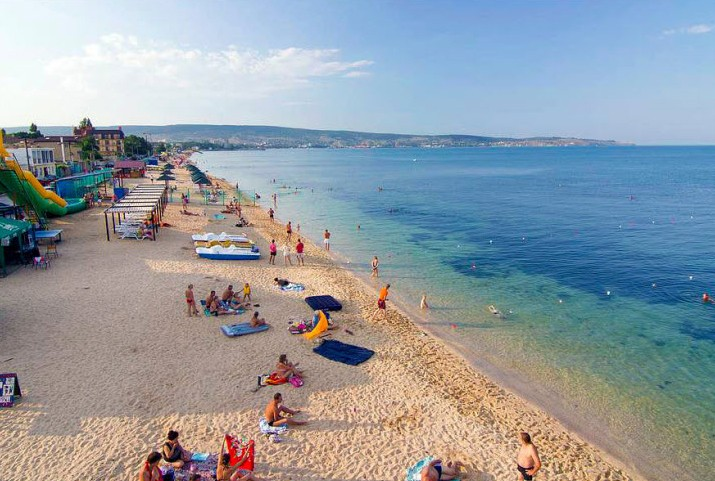 Первый городской пляж, Феодосия