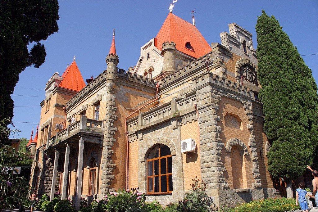 Дворец княгини Гагариной, пос. Утес