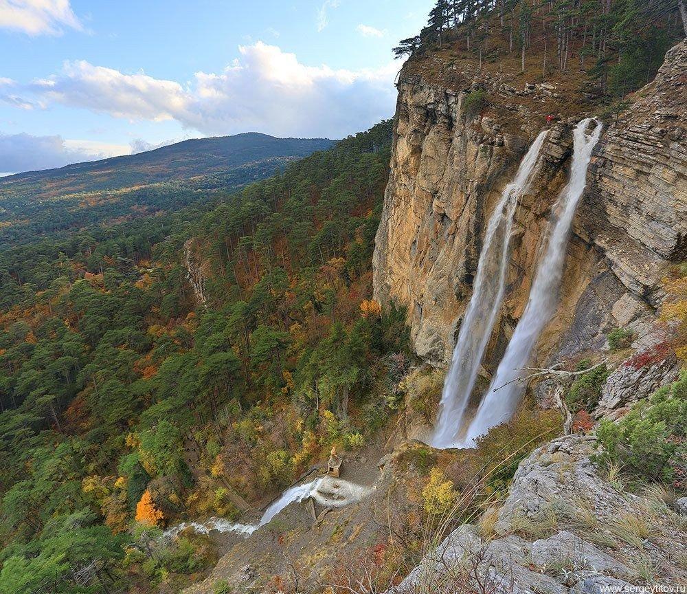 Водопад Учан-Су, Ялта