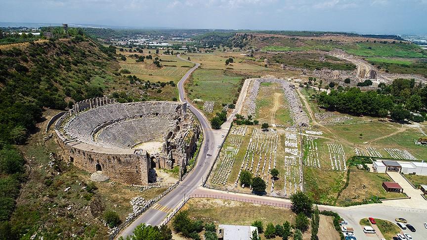 Руины Перге, Анталия