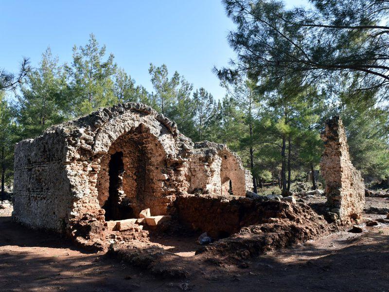 Древний город Лирботон Коме, Анталия