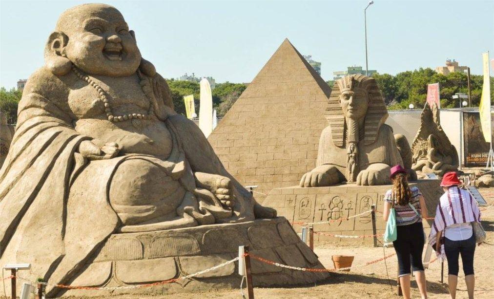 Фестиваль песчаных скульптур, Анталия