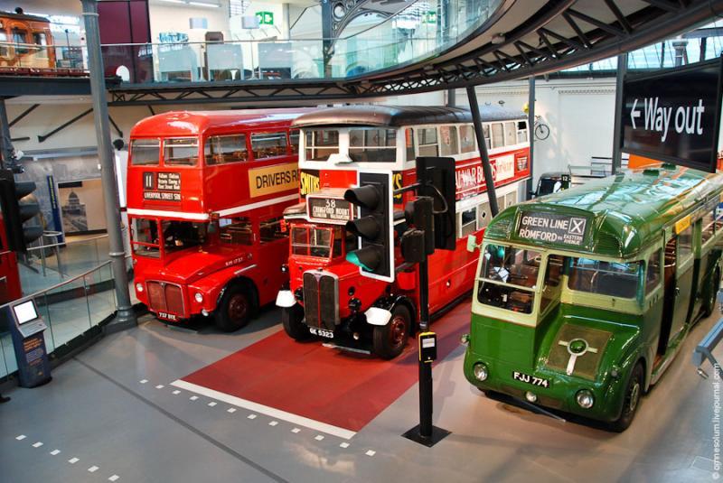 Лондонский музей транспорта, Лондон