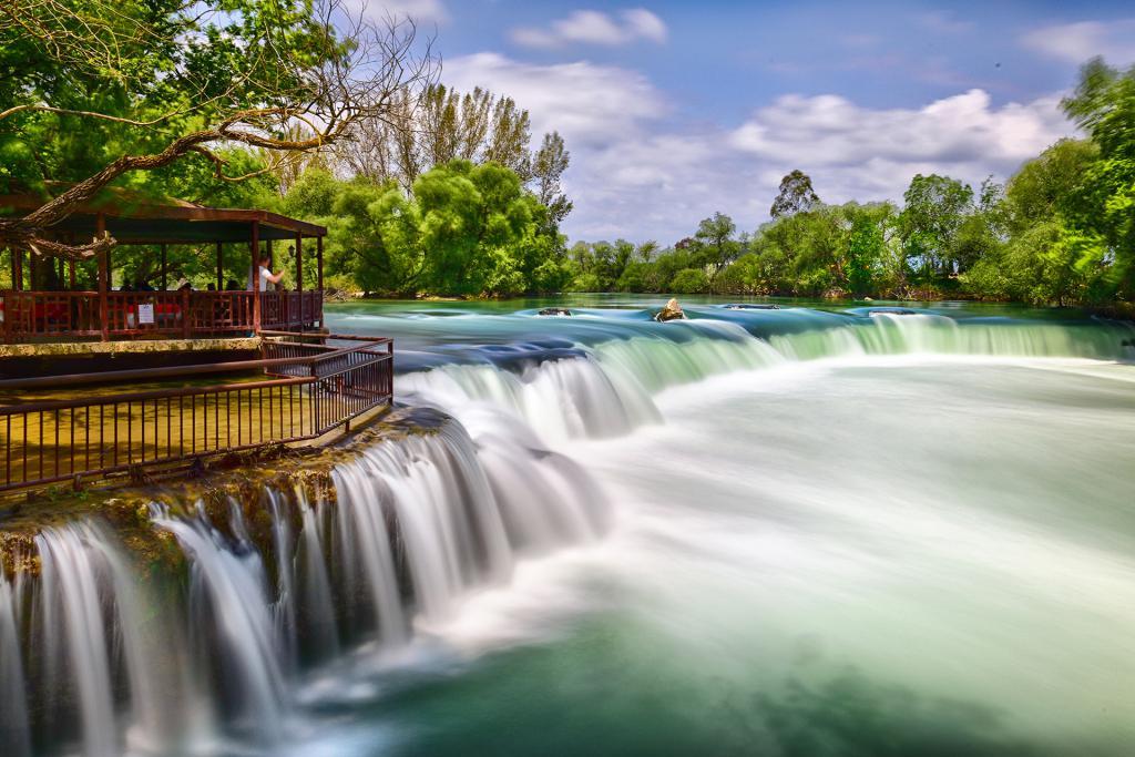 Великий водопад Манавгат, Сиде