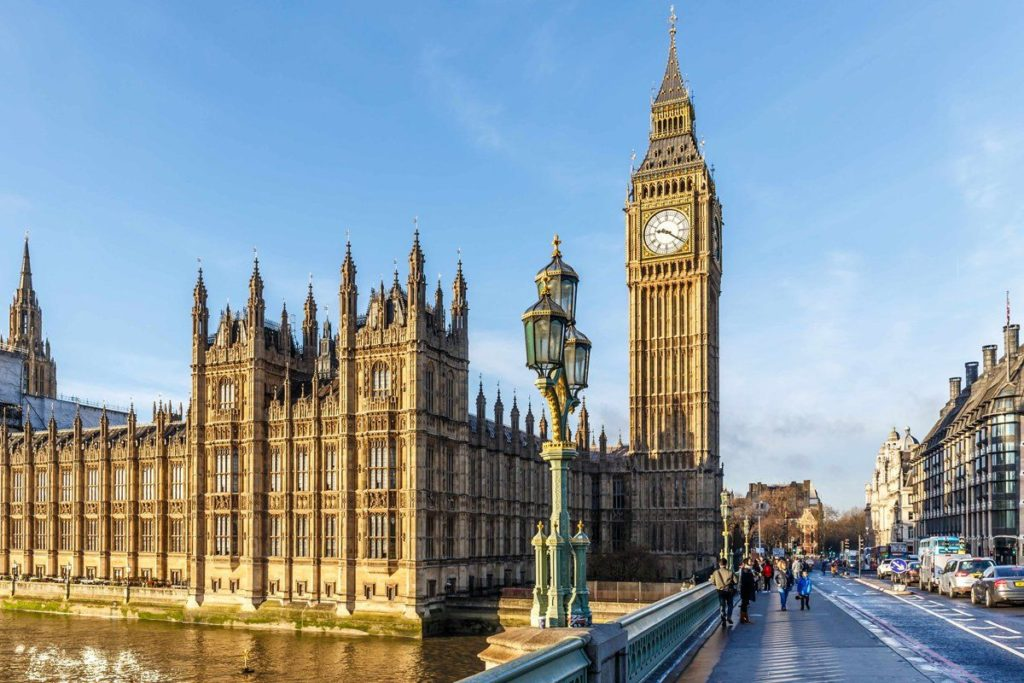 Биг-Бен и британский парламент, Лондон