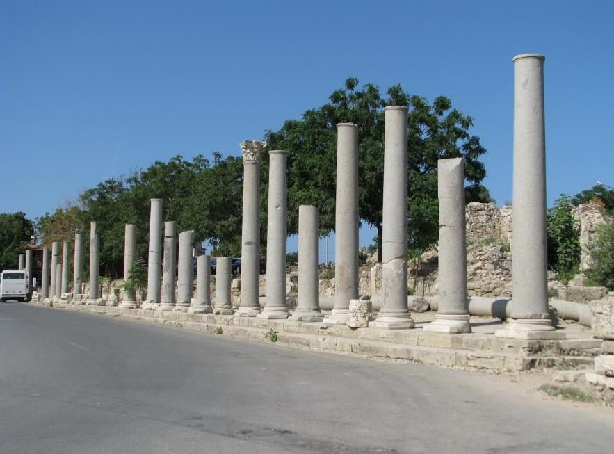 Улица колоннад, Сиде