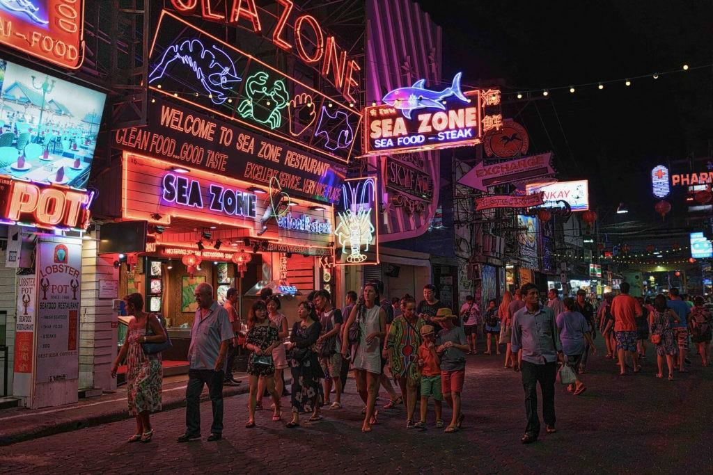 Улица Уокинг-стрит (г. Паттайя), Таиланд