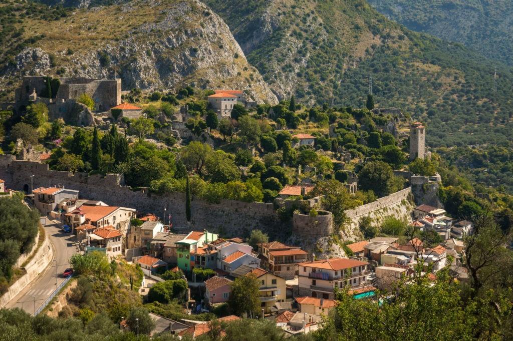 Город-крепость Старый Бар, Черногория