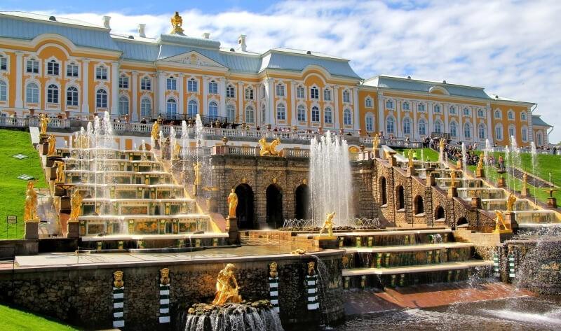 Петергофский дворец, Санкт-Петербург