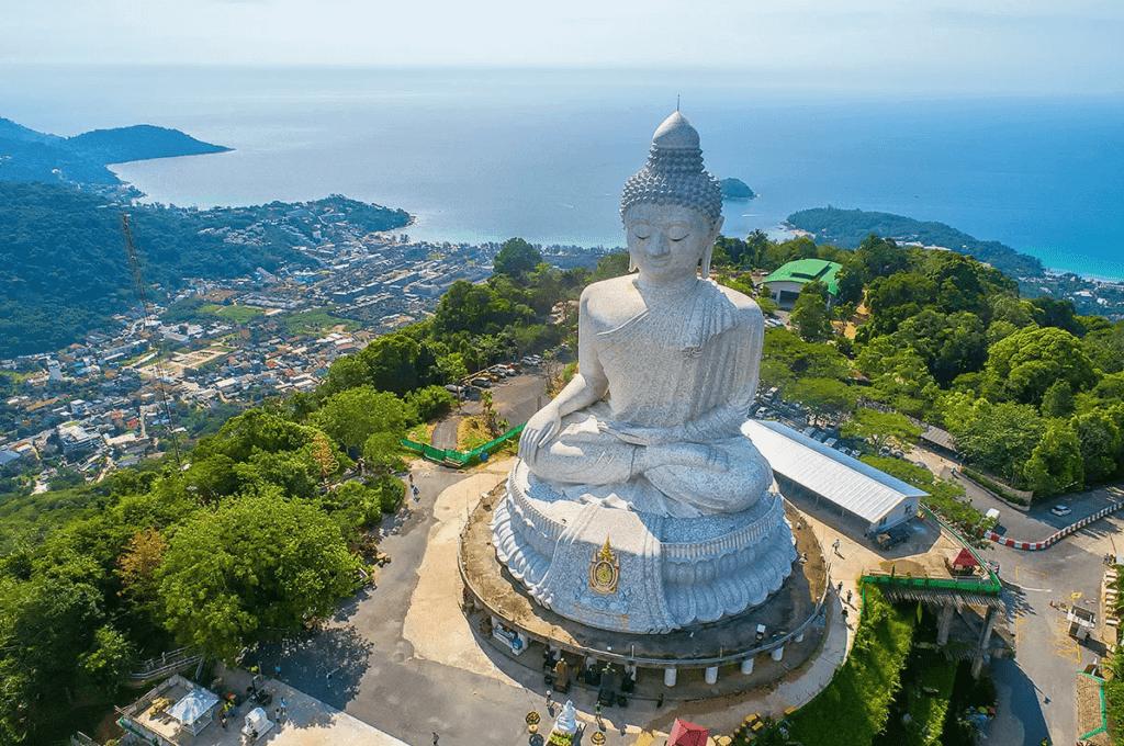 Большой Будда на горе Накакед (о. Пхукет), Таиланд