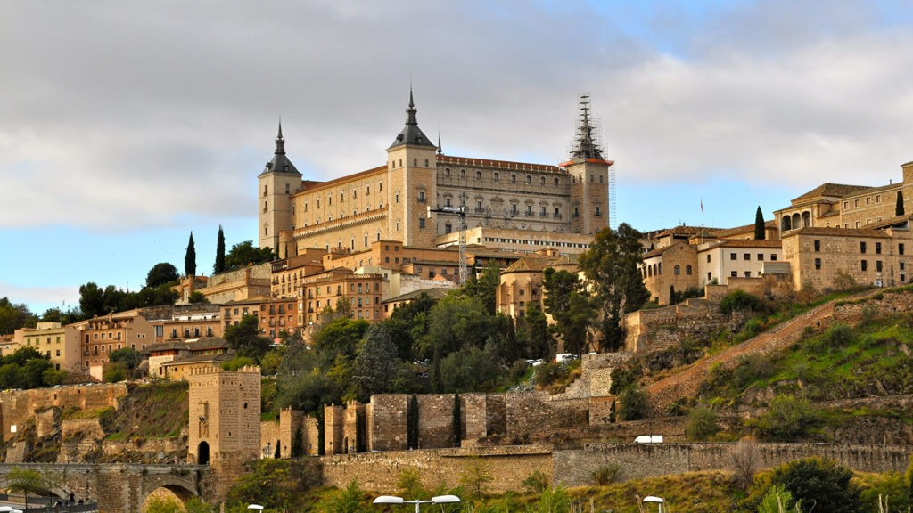 Алькасар в Толедо, Испания