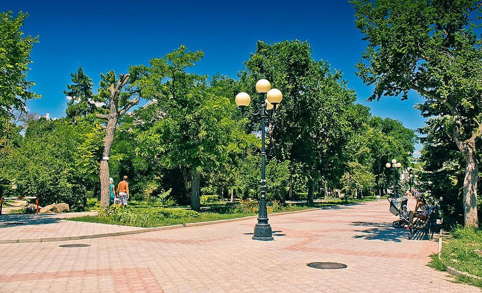Парк имени Фрунзе, Евпатория