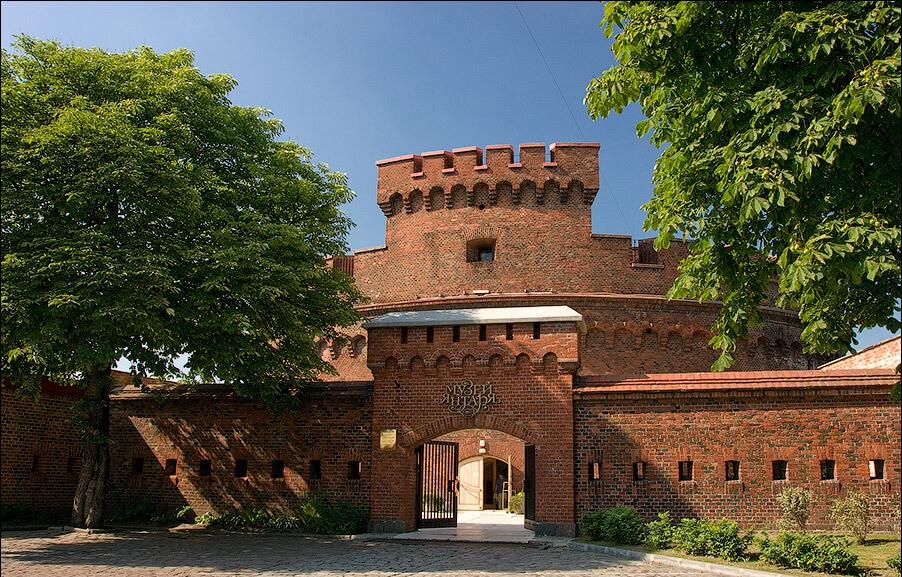Башня Дона и музей янтаря, Калининград