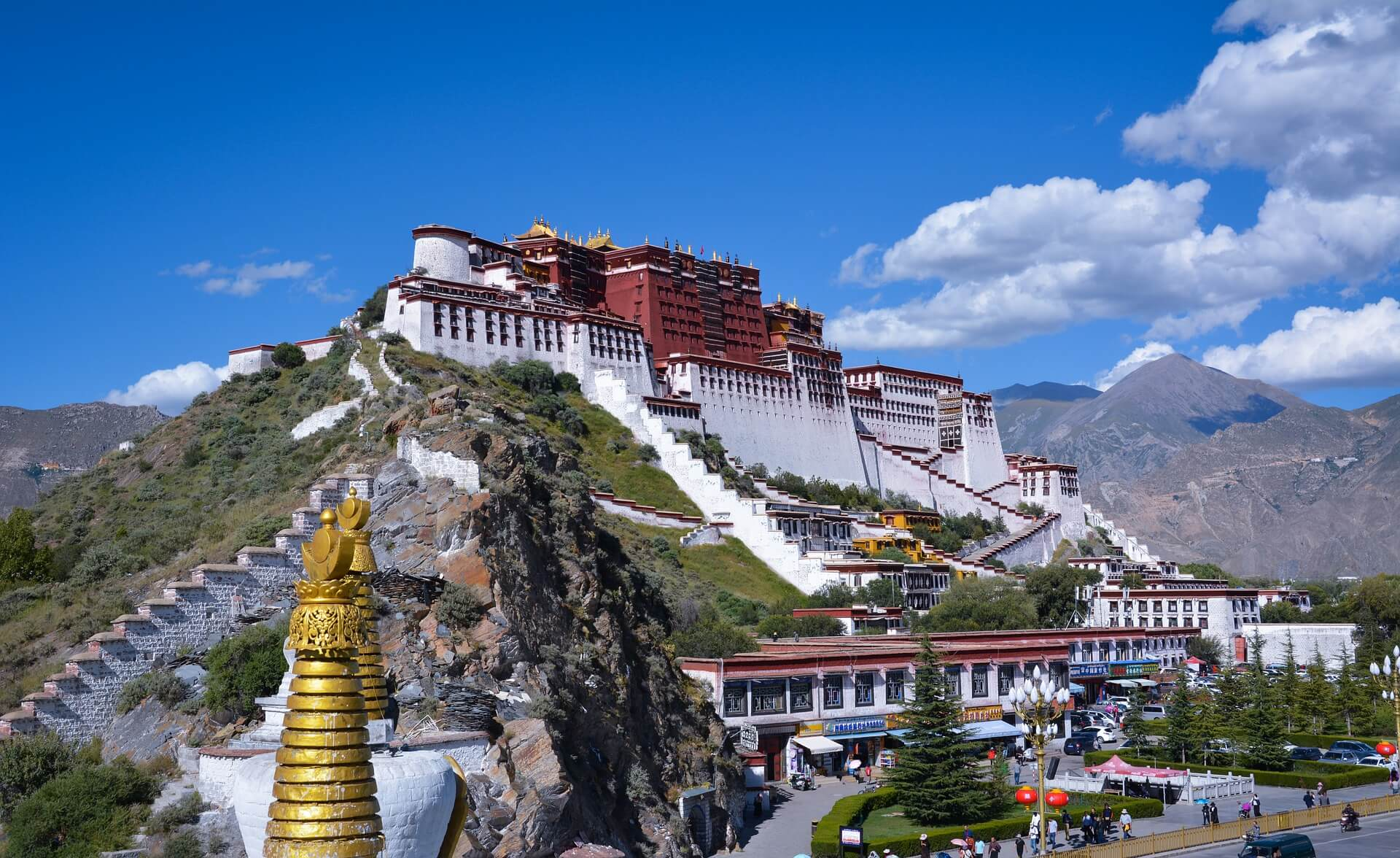 Дворец Потала (г. Лхаса, Тибет)
