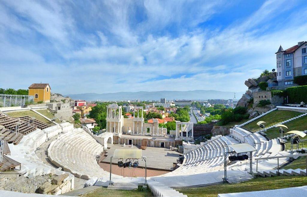 Римский Амфитеатр (г. Пловдив), Болгария