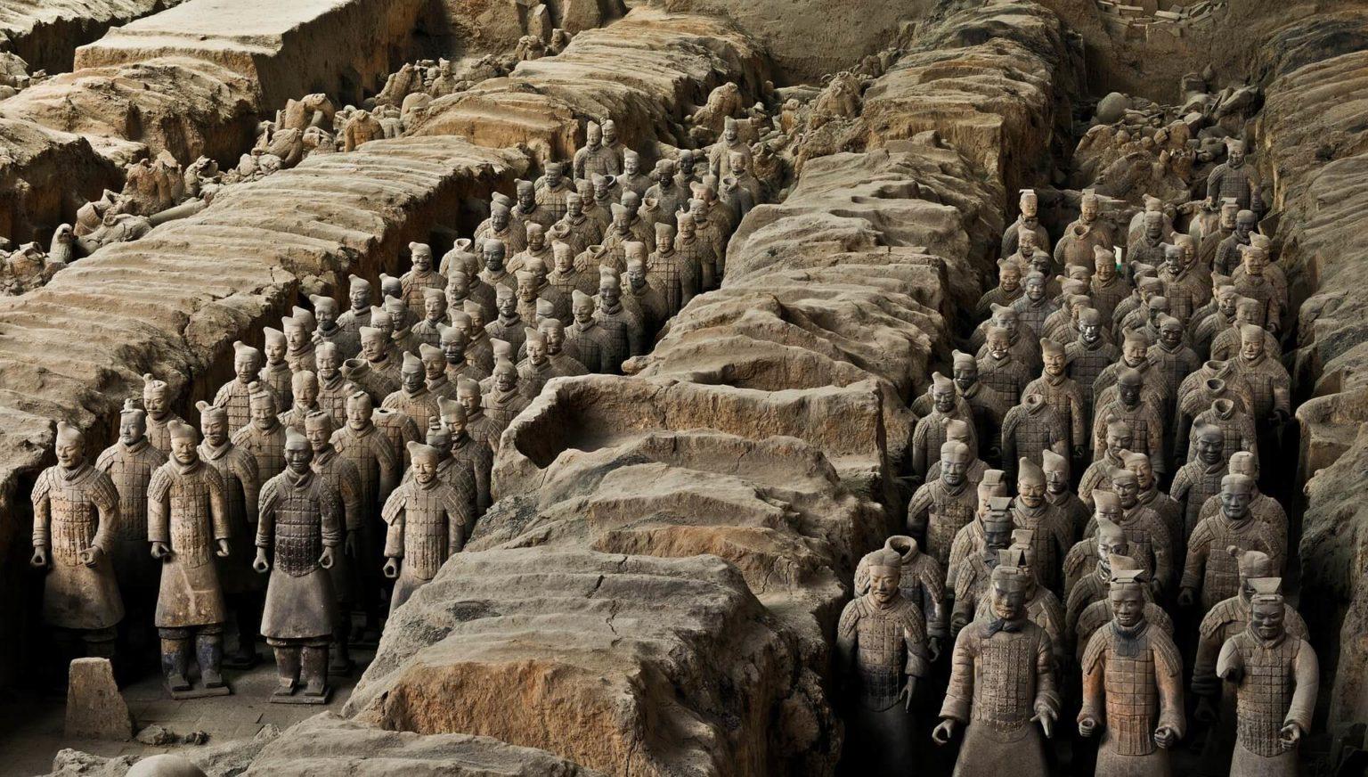 Терракотовая армия (г. Сиань, провинция Шэньси)
