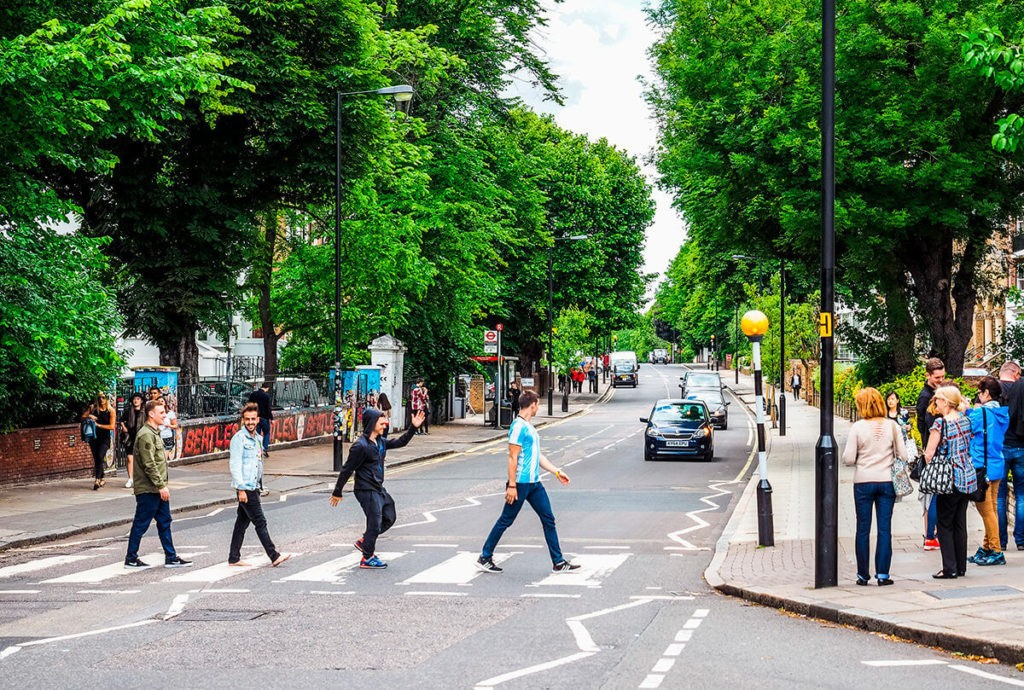 Улица Эбби-Роуд, Лондон