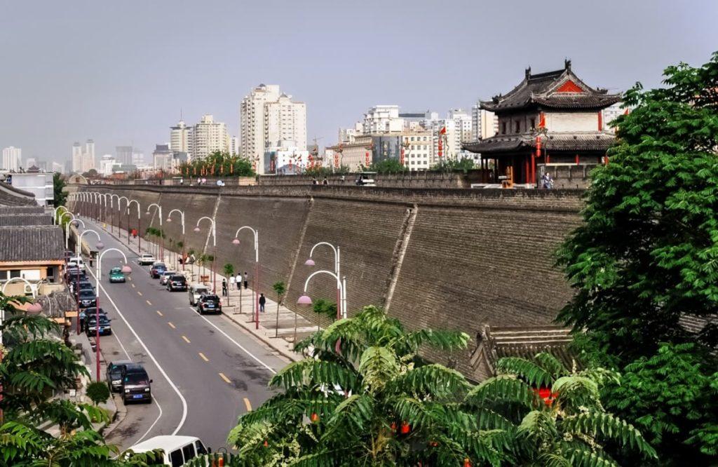 Городская стена (г. Сиань), Китай